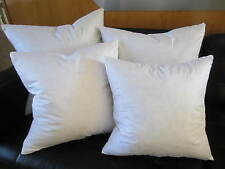 New FEATHER / DOWN Square Euro Pillow Insert Form - ALL SIZES!! Made in USA