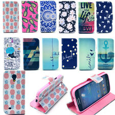 Flip Leather Case Cover Various Style Wallet For Samsung Galaxy S4 mini i9190