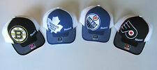 Reebok Structured Flex Hat! Cap, New CM275Z, FLYERS, MAPLE LEAFS, OILERS, BRUINS