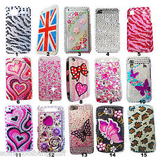 BLING COOL LUXURY DIAMANTE DIAMOND CASE COVER SAMSUNG GALAXY ACE S5830 PRESENT