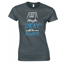 Shirt women the fault in our stars maybe okay will be our always new