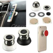 360° Universal Car Mount Kit Sticky Magnetic Stand Holder For iPhone6/6+ Sumsung