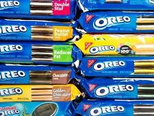 Nabisco Oreo Chocolate Sandwich Cookies ~ Flavor Creme Varieties