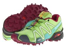 New Salomon Speedcross 3 womens trail running shoe mountain trail green