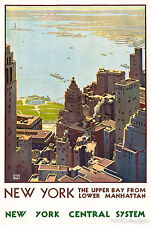 162 Vintage Travel Poster  New York   *FREE POSTERS
