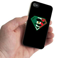 Superman Supermexican Funny Latino Hispanic Swag Case For iPhone 4 4S 5 5S 5C 6