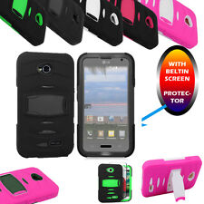 Case Cover Built-in Screen For Phone For Lg Ultimate 2 /Lg L41C Straight Talk