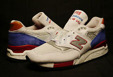 New Balance M998BT National Parks Grey Royal Blue Red Made in USA