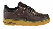 "Nike Air Force 1 ""Winter Workboot"" Men's Shoes Deep Burgundy/Brown 488298-621"