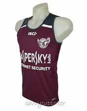 Manly Sea Eagles Training Singlet Maroon 'Select Size' XS-3XL BNWT5