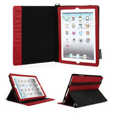 Premium Detachable PU Leather Shoulder Strap Case Cover Stand for iPad 2 3 4