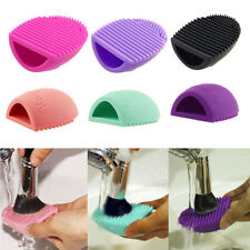 Makeup Brush Cleaner Cosmetic Foundation Glove Scrubber Silicone Cleaning Tool