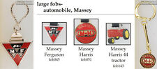 Massey tractor fobs, various designs & keychain options