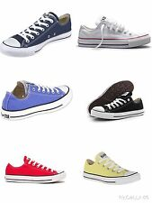CONVERSE ALL STAR CT OX UOMO DONNA SCARPA SPORTIVA BASSA CANVAS MODA VINTAGE