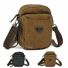 Canvas Military Purse Pouch Wallet Shoulder Fanny Pack Sling Waist Bag Small New
