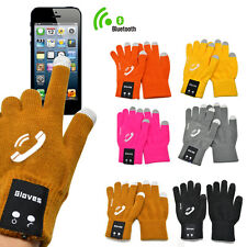 Christmas Gift touch screen glove bluetooth talking Glove Man Woman for phone