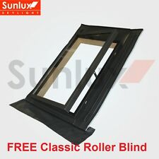 Sunlux Side Hung Rooflight Access Conservation Roof Window 47x73cm + Free Blind
