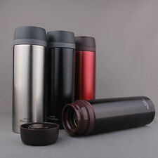 070034Stainless Steel Insulated Flask Vacuum Thermos Cup Travel Mug Water Bottle
