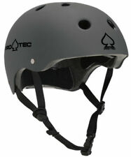 Protec Classic Matte Grey Safety Helmet - BMX/Scooter/Skate