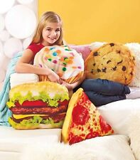 Novelty Shaped Decorative Pillows Cupcake Cookie Hamburger Funny Shaped Pillows