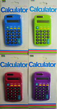 Colourful Calculator. Great for Home, School or Office. Free UK Postage