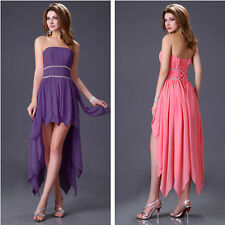 SUPER CHEAP Short Ball Formal HIGH LOW Evening Prom Party Club Dress Bridesmaid