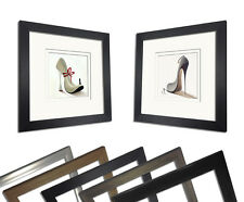 Pair of Shoe Golfer White Shoe Bespoke Framed Prints by Panasenko, Inna
