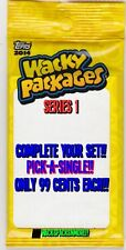 2014 WACKY PACKAGES SERIES1 SINGLES *PICK ONE* -COMPLETE YOUR SET- ONLY 99 CENTS