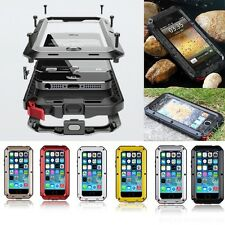 Waterproof Shockproof Aluminum Gorilla Glass Metal Case For Apple iPhone 6 4.7""