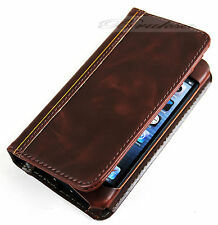For Iphone 6 Retro Class Book Case Antique Vintage Old Design Leather Wallet