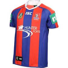 NEWCASTLE KNIGHTS NRL 2014 ISC HOME JERSEY MENS ADULT SHORT SLEEVE