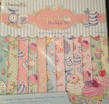 "Dovecraft Cupcake Boutique 12"" x 12"" Designer **SAMPLE** Paper Pack"