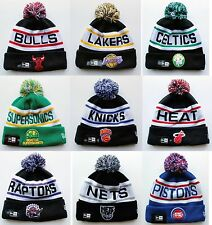 All Teams NBA Basketball New Era Biggest Fan Redux Beanie Hat Knit Cap Adult