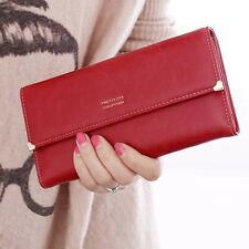High Quantity Fashion Lady Retro Purse Clutch Wallet Long Card Holder Bag
