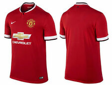 BNWT 2014/15 Manchester United Home Shirt - ANY NAME AND NUMBER FREE - ALL SIZES