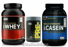Gold Standard Whey Casein Combo with Platinum Pre SF, Optimum Nutrition, Protein