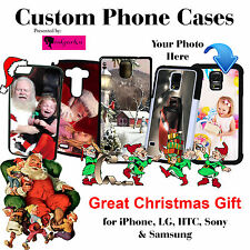 Custom Phone Case with Your picture for iPhone, Samsung, LG, HTC Great xmas gift