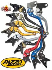 BMW F800GS F800GT F800R F800ST F800S PAZZO RACING Lever Set ANY Color & Length