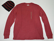 Levi's Thermal Tee & Beanie Combo Size S,L NWT MSRP $50