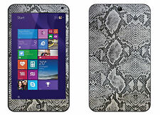 Hp Stream 7 Texture CARBON Fiber skin skins decal for  case cover wrap