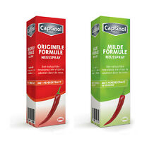 CAPSINOL 100% natural nasal spray based on capsaicin pepper. EU medical device