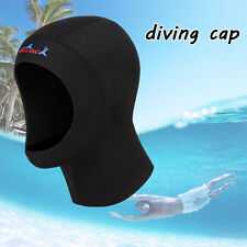 New Black 1mm Neoprene Scuba Diving Hat Scuba Diving Hood Divers Cap
