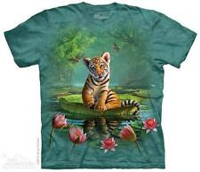 The Mountain TIGER LILY Adult Men T-Shirt S-2XL Short Sleeve PRINT IN USA