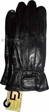 New Women's Leather Gloves, Black warm Winter Gloves casual leather gloves BNWT*