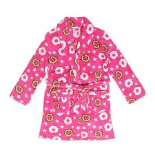 "Tweenklz Girls'  ""Doughnut"" print Plush Coral Fleece Robe"
