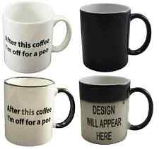 After This Coffee I'm Off For A Poo Coffee Mug Can Personalise Funny Office Gift