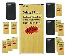 NEW 4350mAh Battery Wall AC DOCK Charger for SamSung Galaxy S5 I9600 G900F USA