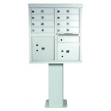 Florence Mailboxes 1565 High Security Cluster Box Units (8 Box Unit)