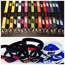 New Nike Lanyard , Keychain, ID badge and Document Holder Assorted Colors