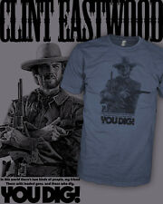 Clint Eastwood Movie T-Shirt - The Good The Bad The Ugly - Scoop V-Neck Raglan